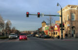 Castle Rock celebrated its 125th Anniversary in 2006. This is a photo of of 3rd and Wilcox,...
