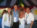 Concerts for Kids patrons supporting the children of Colorado include, from left, Debra and Ken...