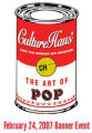 CultureHaus invite for 2007 Art of Pop! It's the banner event at The Denver Art Museum benefiting...