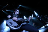 MJM113 The New Jersey based band, My Chemical Romance Mikey Way, left, on bass and brother and...