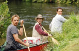 Seth Green plays Dan in the buddy film Without a Paddle.