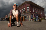 Leadville, Colo., photo by taken August 7, 2004- Bob Findlay will run in the leadville 100 extreme...