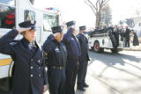 The funeral for Baltimore firefighter Rachael Wilson, 29-year-old mother of two and daughter of...
