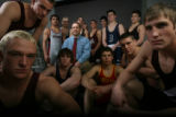All-Colorado wrestling team (from left - front row) Sonny Yohn (Alamosa, CO), Ross Brunkhardt...