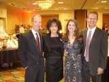From left, honorary MHAC board member Don Cook and his wife, Patty, one of the Tribute Dinner...