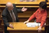 (DENVER, Colo., April 26, 2004)  We document the daily doings of the Colorado Senate  Monday...