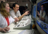 NYT2 - (NYT2) SANTA CLARA, Calif. -- August 8, 2004 -- INTEL-CHIPS-2 -- Teresa Rini and Scott...