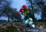 Gravesite of Jimmy Ford (cq) in Greeley, Colo., on Tuesday, October 10, 2006. Ford was killed when...