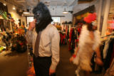 (DLM0299) -  at the Ritz, a cutome and vintage clothing store, in Boulder, Colo. Monday, Oct. 30,...