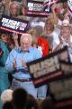 (8/04/2004, GOLDEN, CO)  Vice President Dick Cheney and his wife Lynn Cheney spoke to an...