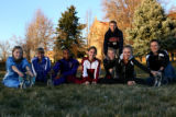 2006 Rocky Mountain News All-Colorado boys and girls cross country team, (left-right), Katie...