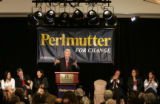 Former President Bill Clinton came to the J.W. Marriott in Cherry Creek to stump for 7th...