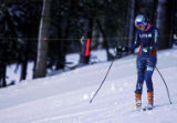 U.S. Ski Team member Lindsey Kildow practices with other members of the speed team at Copper...