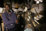 (NYT23) NEW ORLEANS -- Nov. 20, 2006 -- KATRINA-LOST-EVIDENCE -- Warren E. Spears, the clerk in...