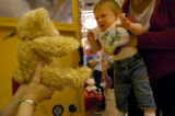 (DENVER, CO. 5/13/04)  USO Joins Build-A-Bear Workshop¨ in Operation Stuffed With Hugs Who: A...