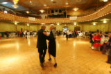 Hal and Geri Gloystein dance to the Dean Bushnell (cq) Orchestra at the 59th Annual Golden Wedding...
