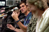 (DENVER, Colo., May 13, 2004) Perry Farrell came with other musicians to a press conference at...