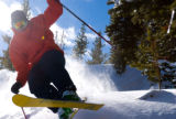 Vail local Jason Roberts rips up Vail's opening day powder stashes. The resort plans to add more...