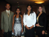 Tribute to Black Youth honorees Terrence Williams, Jasmine Tatum, Rachel Roberson and Audrey...