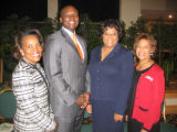 Tribute to Black Youth luncheon committee co-chairwoman Marsha Johnson, keynote speaker Kwame...