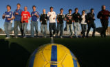 (DLM1746) -   The 2006 Rocky Mountain News All-Colorado boys soccer team photographed at Five Star...