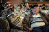 Pearl Harbor survivor Jim Doyle (cq), 83, talks about his adventures in WWII and the toll that...