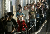 While there were  short security lines in the m at 4:30 P.M. at DIA Wednesday afternoon , November...