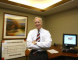 Bill Farrell (cq), President of Wells Fargo, in his office at 1740 Broadway, Wednesday afternoon...