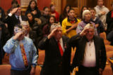 (DLM2813) -   Pearl Harbor remembrance ceremony at Capitol. (DARIN MCGREGOR/ROCKY MOUNTAIN NEWS)