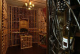 (ERIE, Colo., Aug. 18, 2004)  The wine cellar at Eureka by John Laing Homes at the 2004 Parade of...