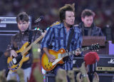 [ES108] - Rock Legend John Fogerty of Creedence Clearwater Revival fame performs the half-time...