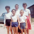 Alice and Steve Larson, in front, pose in this family photograph. The siblings were both on the...