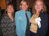 From left, Edie Bell, Colorado first lady Frances Owens and Deb Smith. (DAHLIA JEAN...