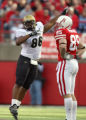 (DLM0867) -  In the second quarter University of Colorado defensive tackle George Hypolite...