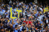 In the fourth quarter, the San Diego Chargers fans show their appreciation for record setting...