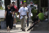 (DENVER, CO., August11 2004)  A community walk group made up of teachers and employees from Cole...