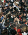 BG0147 Hundreds gather to recognize National Pot Smokers Day by peacefully smoking marijuana at...
