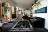 A family room in the main home.  Anti-virus software pioneer John McAfee plans to auction off a...