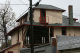 Part of this home at 1452 Elizabeth St. collapsed late Tuesday  afternoon, April 24, 2007 in...