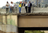 Golden, Colo., photo taken May 16, 2004- Members of  Colorado department of transportation (CDOT),...