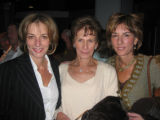 Katherine Gold, Ann Gold and Elizabeth Gold. (honoree Will Gold's sisters and mother, center.)...