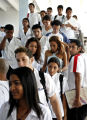 (NYT53) HAVANA, Cuba -- Dec. 7, 2006 -- CUBA-MEDICAL-SCHOOL-2 -- Students from many countries at...
