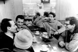 "EARLY BEAT: During a break in the filming of the 1959 historic beat film, ""Pull My..."