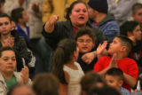 Veronica Rodriguez,top, surrounded by her small children (grandmother asked not to identify...