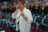 NEW YORK CITY, NY - AUGUST 31, 2004 -- Anita Cornwell, a delegate for Colorado from Fort Morgan,...