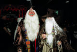 Dr. Ross Wilkins and Dr. Bill Brown show off their Dumbledore costumes. (LIMB PRESERVATION...