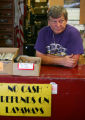 Retired Master Sgt. David Leuty at Big Jim's Pawn in Colorado Springs, Colo., on Wednesday, March...