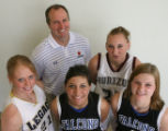Member of the Rocky Mountain News All-Colorado Girls basketball team shot at Horizon High School,...