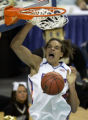 NUH104 - Florida's Joakim Noah dunks against Purdue in the second round of the NCAA Midwest...