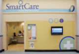 SmartCare (cq) Family Medical Centers, such as this one at Wal-mart Super Center at Bowles and...